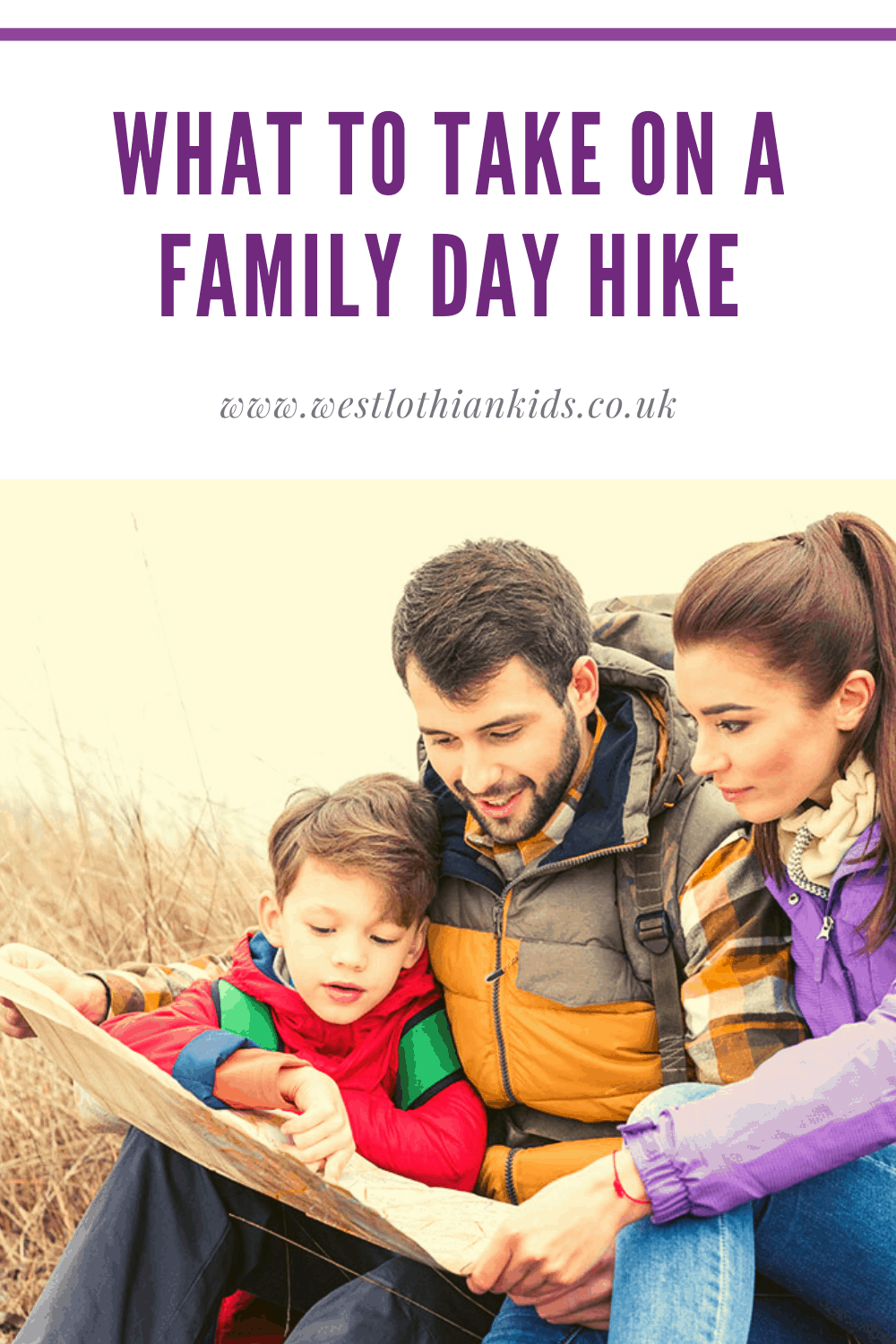 What to pack on a family day hike