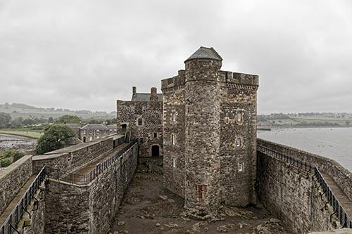Blackness castle - Edinburgh, Scotland, United Kingdom