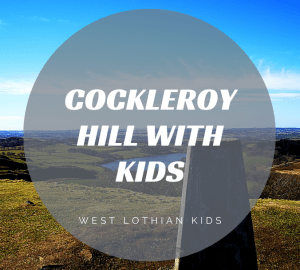 View from the stop of Cockleroy Hill in Bathgate