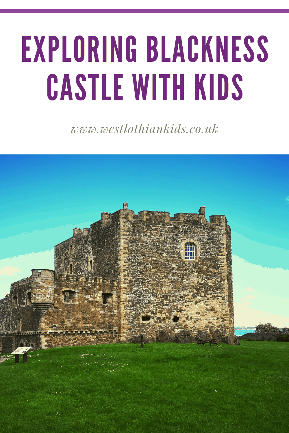 Exploring Blackness Castles near Linlithgow, Scotland With Kids